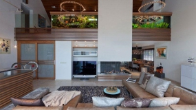 استفاده از آکواریوم در فضاسازی داخلی منزل