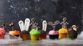 خلاقیت در تزئین دسرهای خوش آب و رنگ هالووین 2020