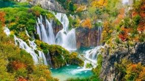 دریاچه های زیبای پلیتویک کرواسی