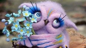 هنرمند روس و ساخت اسباب بازی و حیوانات پشمی سرگرم کننده