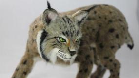 حیوانات بامزه ساخته شده با هنر کچه دوزی