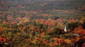 چشم انداز پاییزی