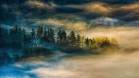 عکاسی از طبیعت، عکاسی از خورشید، عکاسی از مه