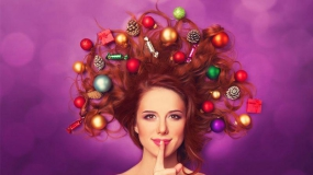 مدل مو مخصوص ایام کریسمس