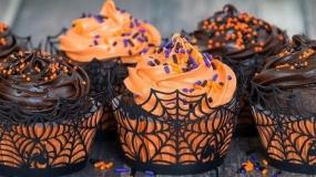 گلچینی از کاپ کیک هایی جالب مناسب هالووین