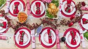 تزیینات شام کریمس