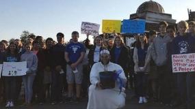 همکاری یهودیان و مسیحیان برای بازگشایی مسجد سوخته
