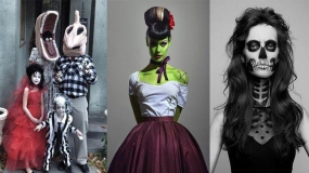 لباس های طراحی و معرفی شده برای هالووین 2017