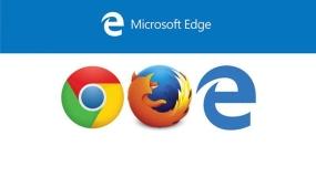 مرورگر مایکروسافت اج در برابر گوگل کروم و موزیلا فایرفاکس