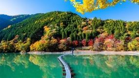 بهترین چشم اندازهای ژاپن در  پاییز ۲۰۱۸