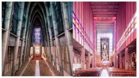 فضای داخلی کلیساهای مدرن