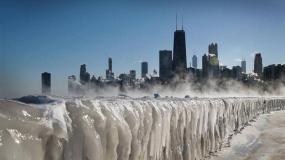 ورتکس قطبی و سرمای شدید هوا در ایالات متحده
