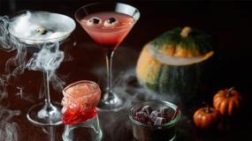 دسر و نوشیدنی با تم هالووین