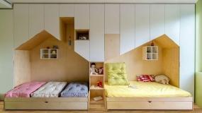 طراحی خلاقانه اتاق کودک