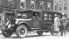 تصاویری خاطره انگیز از کتابخانه های سیار
