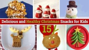ایده های ساده کریسمسی ویژه میان وعده کودکان