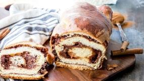 طرز تهیه نان دارچینی رولتی