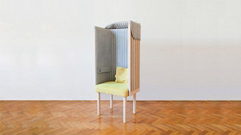 صندلی راحتی عایق صدا و نویز