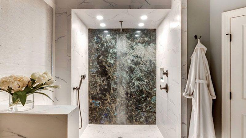 طرحهایی برای حمام و دوش آب