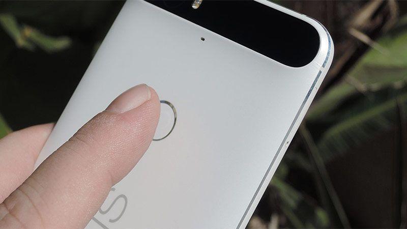 ژست حرکتی جاروبی حسگر اثر انگشت Pixelهای گوگل