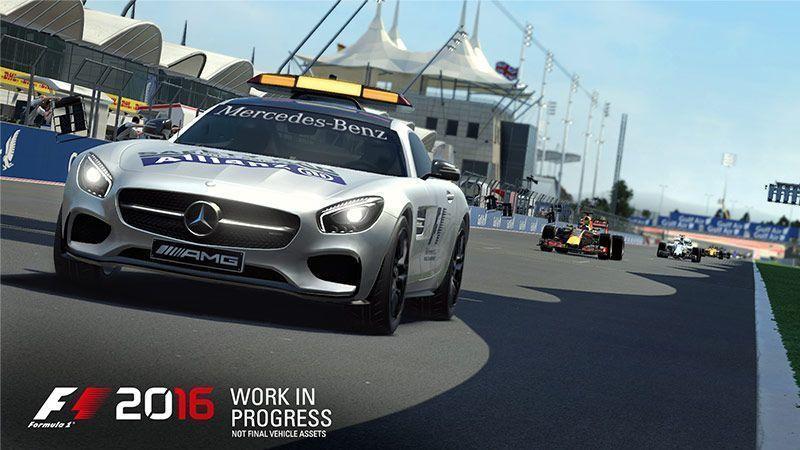 بازی اتوموبیلرانی F1 2016