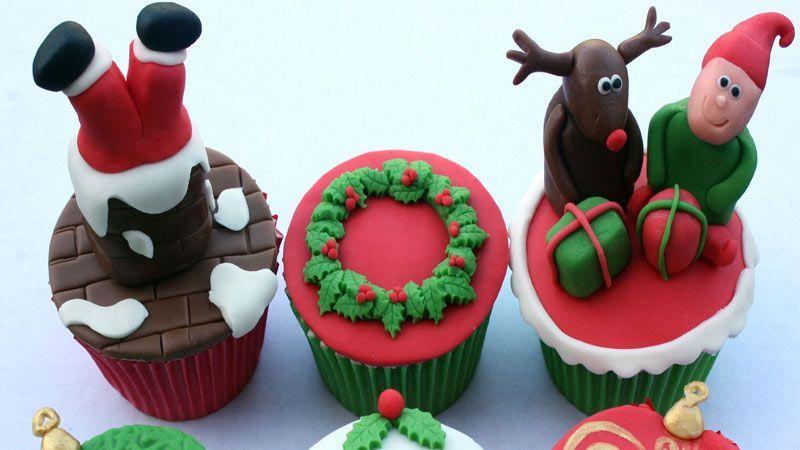 پخت شیرینی با تم کریسمس-1