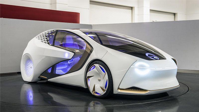 خودروی شگفتانگیز Concept-i تویوتا