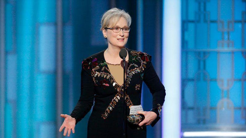 سخنرانی جنجالی مریل استریپ در گلدن گلوب 2017