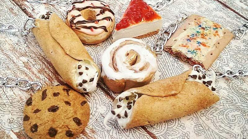 ساخت خوراکیهایی خوش رنگ و لعاب با استفاده از خمیر پلیمری