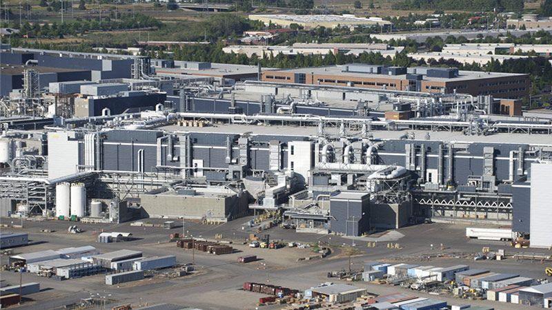کارخانهی تولید تراشههای اینتل