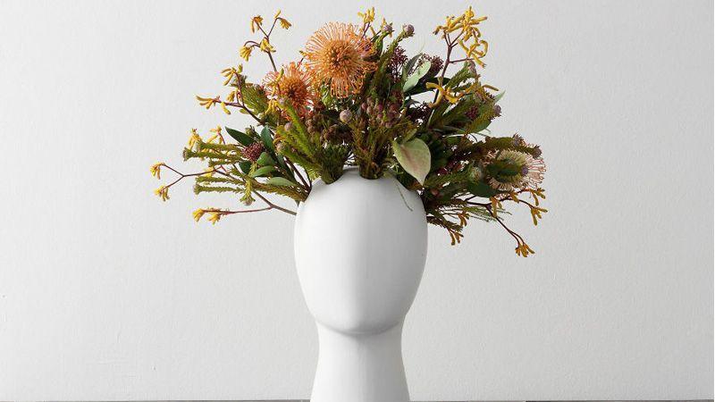 خلاقیت در طراحی گلدان گل