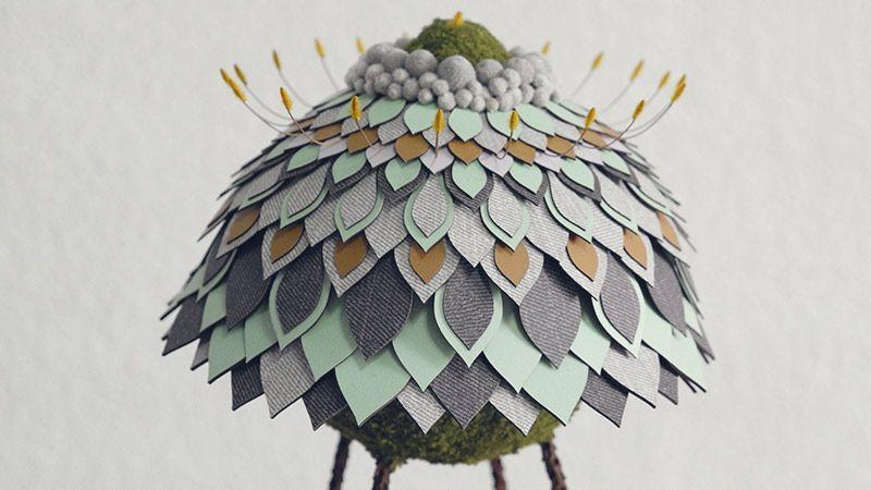 هنرمند مالزیایی و ساخت گلهای عجیب اما جالب توجه
