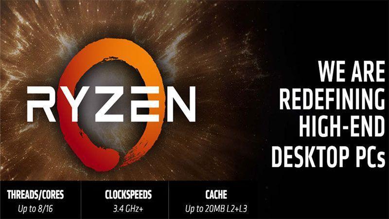 پردازندههای AMD Ryzen