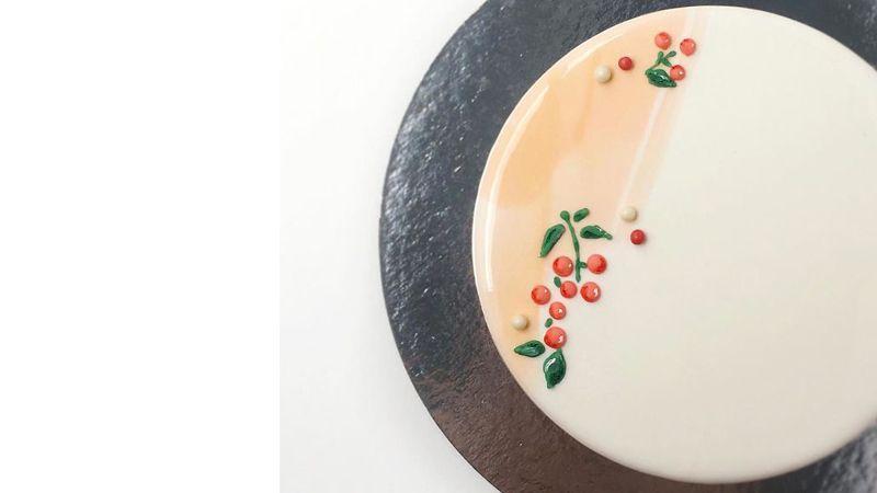 پخت خلاقانه کیک مرمری یا آیینه ای