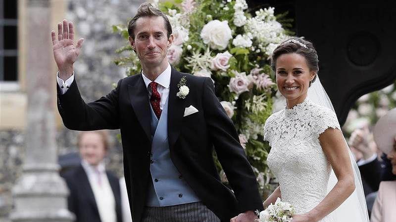 ازدواج پیپا میدلتون، خواهر کوچکتر دوشس کمبریج و عروس ملکه انگلستان