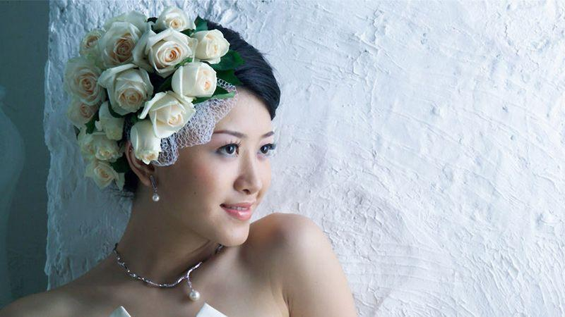 مدل مو و شینیون عروس