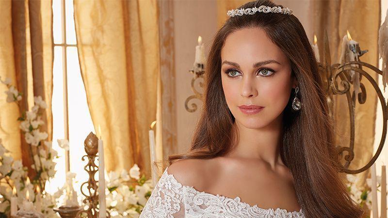 مدل لباس عروس مناسب افراد لاغر و قد بلند