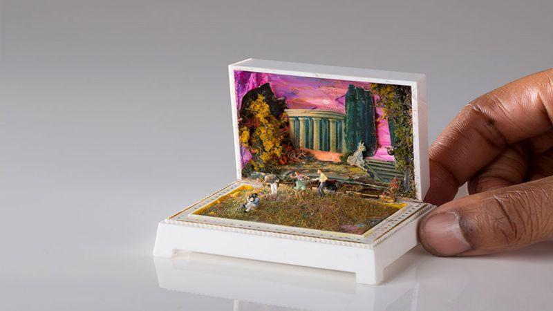 ساخت شهر فرنگ داخل جعبه جواهرات