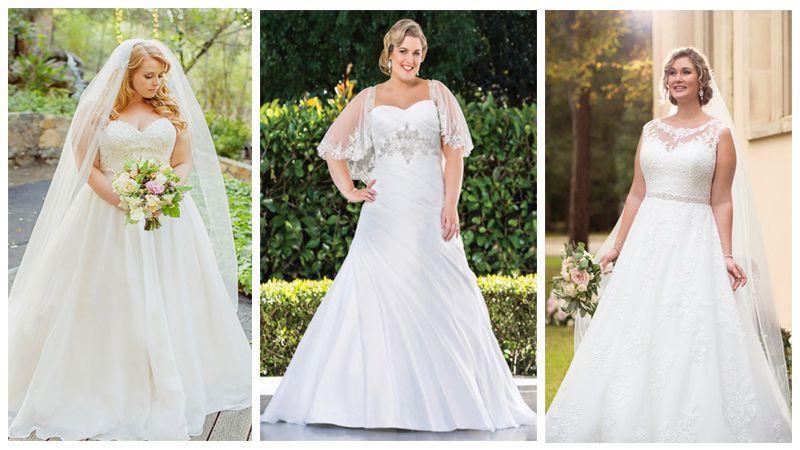 مدل لباس عروس برای خانم های چاق و سایز بزرگ