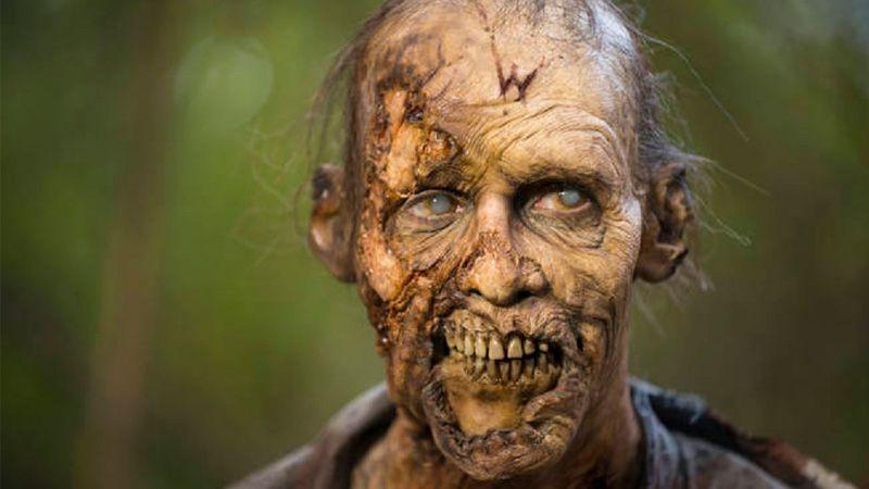 چگونگی گریم زامبی در سریال مردگان متحرک