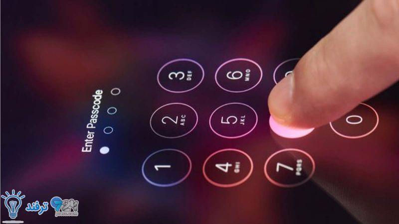 فراموشی رمز عبور آیفون