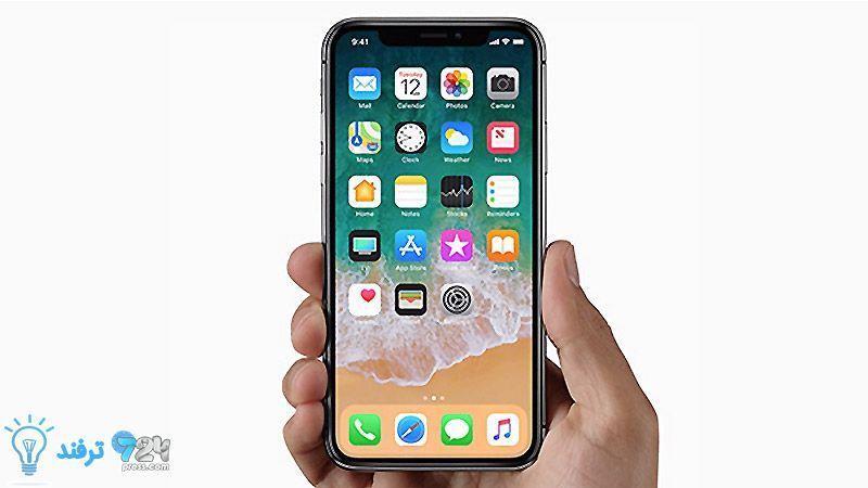 چگونه در iPhone X اپل، اسکرینشات بگیریم؟