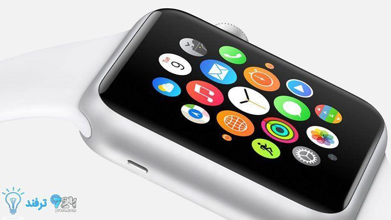 روش تغییر چیدمان اپها در ساعت اپل