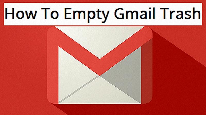 نحوهی حذف و خالی کردن سطل زباله در Gmail