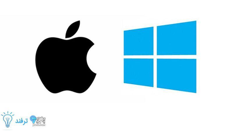 انتقال فایل از مک به ویندوز