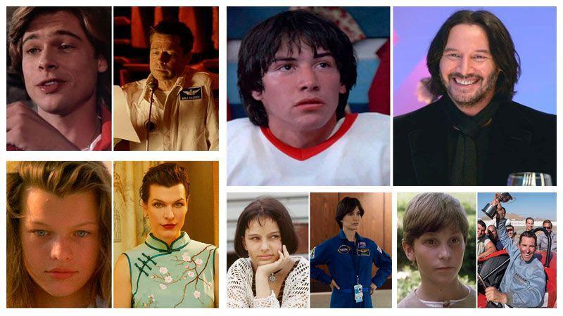 تغییرات چهره بازیگران معروف و محبوب هالیوودی در گذر سال ها