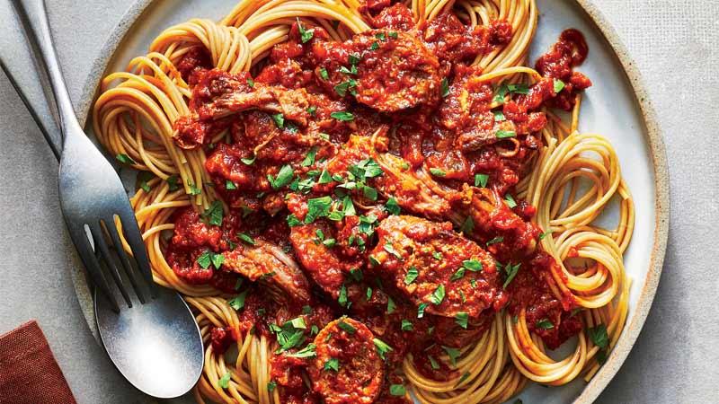 طرز تهیه خانگی سس ایتالیایی مارینارا