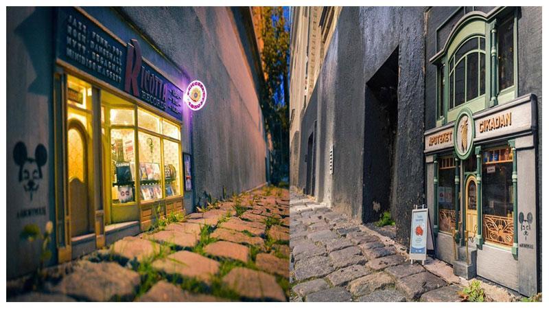 ساخت ساختمانهای کوچک و مینیاتوری توسط هنرمندان خوش ذوق سوئدی