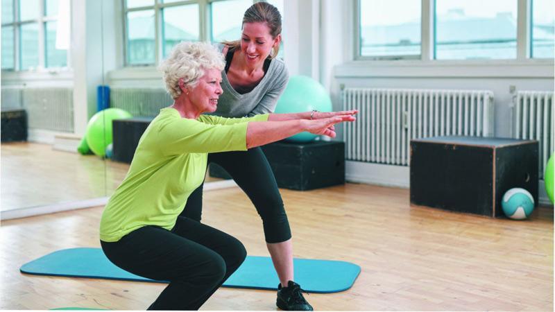 ورزش برای زنان میانسال