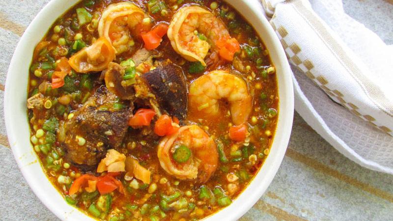 طرز تهیه سوپ بامیه